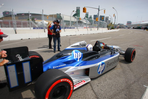 Off we go towards the Toronto skyline | by IndyCar Series