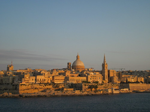 Sunset on Valletta