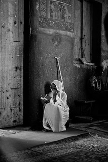 Believer, Church of Debre Berhan Selassie, Gondar, Ethiopia | by pictorlucis