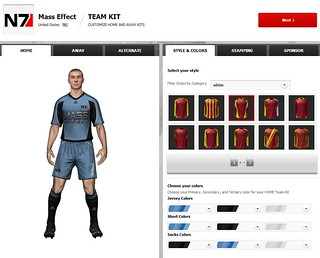FIFA 12 Creation Centre: New Kit Options | by EA SPORTS FIFA