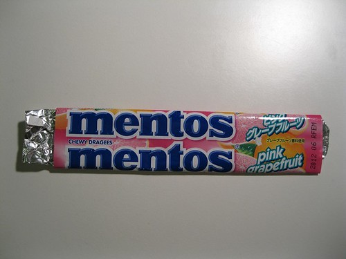 Mentos Pink Grapefruit | by Candy Bar Wrappers