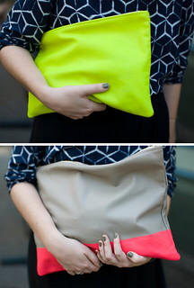 neon clutch | by the style files