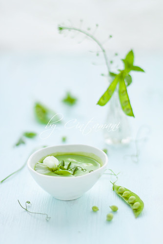 Peas & Peppermint Soup | by Cintamani, GreenMorning.pl