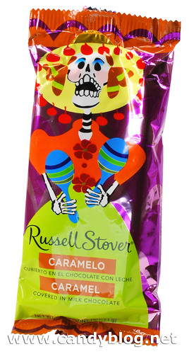 "Russell Stovers ""Day of the Dead"" Chocolate Covered Caramel 