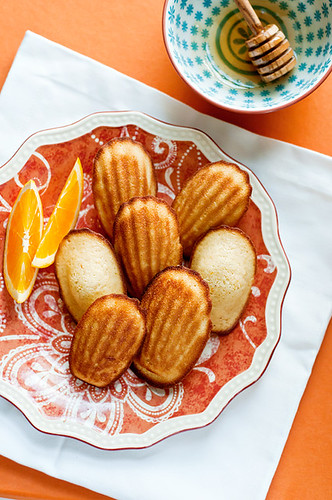 orange and honey madeleines-9 | by acupofmai