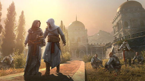 PS3: Assassin's Creed Revelations - Masyaf MariaThorpe & Altair | by PlayStation.Blog