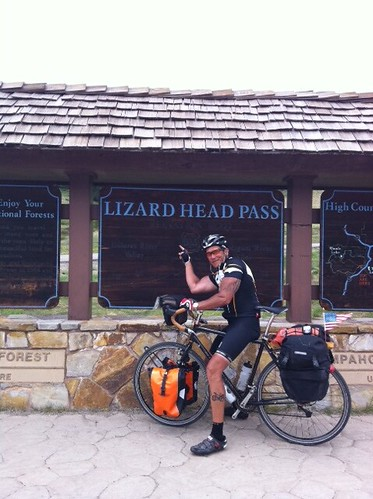 Gunnar Grand Tour at the top of Lizard Head Pass | by Gunnar Cycles