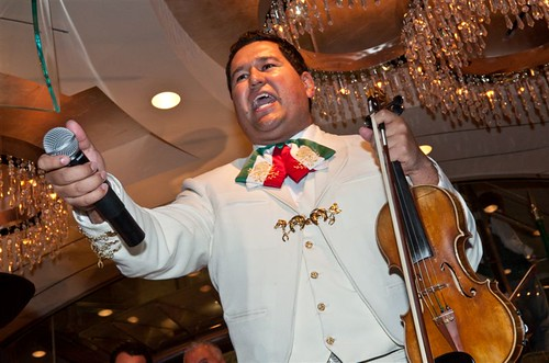 "The Ceremonial ""Grito Mexicano"" Celebration at The Chandelier During Mexican Independence Day at The Cosmopolitan of Las Vegas 