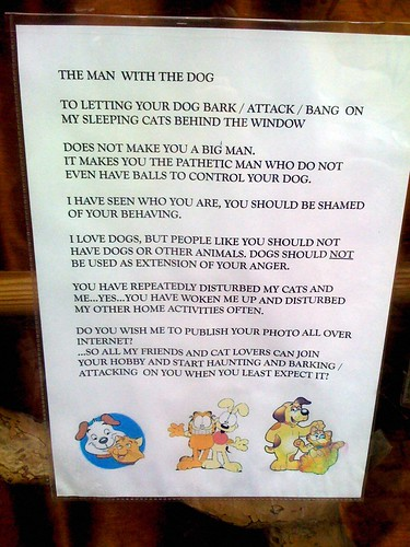 Beware of Barking Mad Cat Lovers! | by passiveaggressivenotes