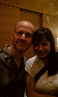 Veronica Belmont and me | by thebadastronomer