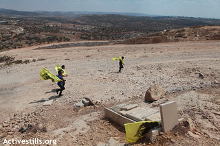 Demonstration against the Wall, Bil'in, 02.09.2011 | by activestills