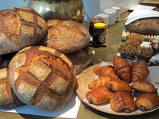 bread, pains au chocolat and croissants | by David Lebovitz