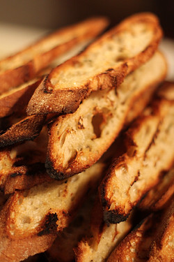 grilled bread | by David Lebovitz