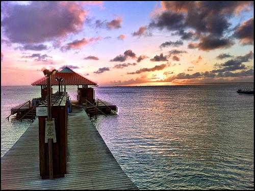 Divi flamingo diving dock bonaire netherlands antilles flickr - Dive e divi ...