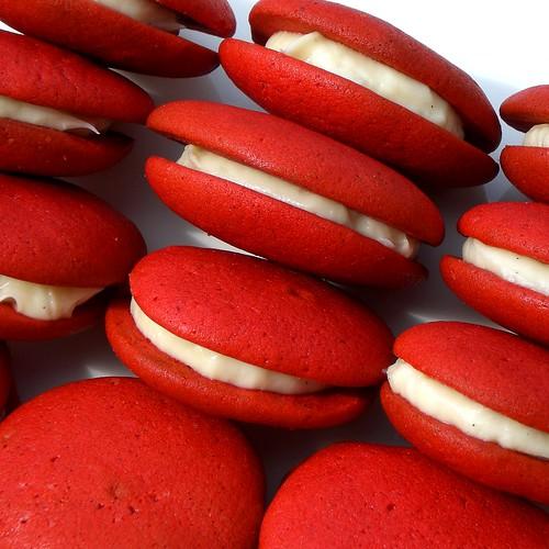 Red Velvet Whoopie Pies Cake Mix