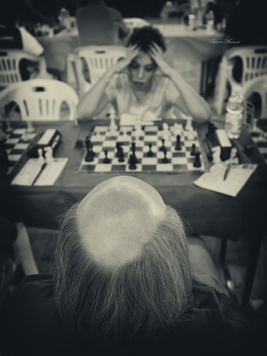 the chess game | by Franco Marconi