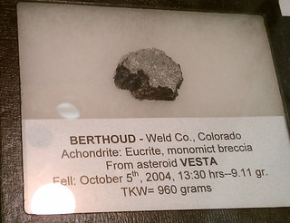 Berthoud meteorite from Vesta | by thebadastronomer