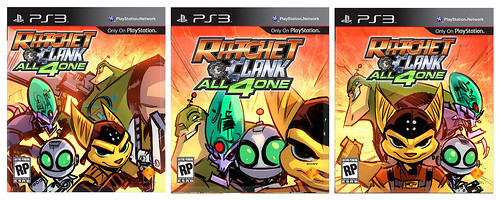 Ratchet & Clank All 4 One pre-release box art: Phase II | by PlayStation.Blog