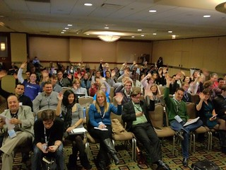 SES Chicago Audience for TopRank Online Marketing presentation on Social, SEO & Content Marketing | by TopRankMarketing