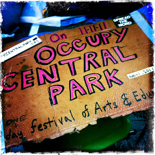 Occupy Central Park | by Christer Olsson