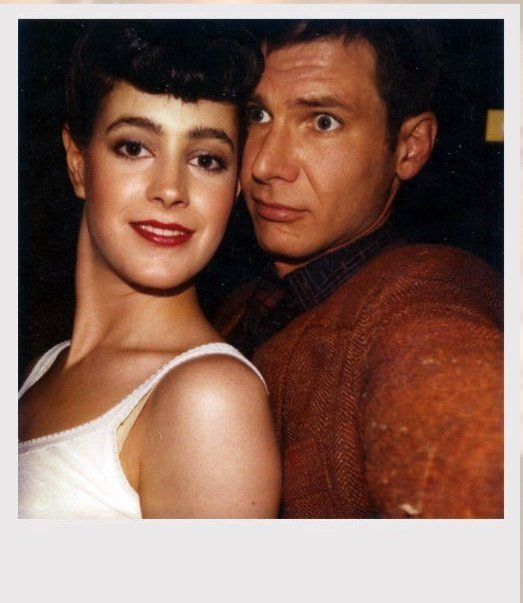 Blade Runner: Sean Young and Harrison Ford in a Polaroid