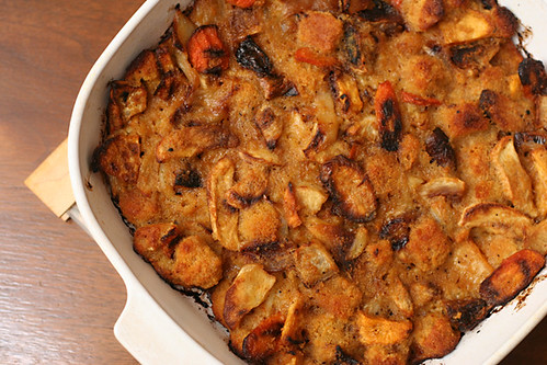 root vegetable stuffing 6 | by crumblycookie