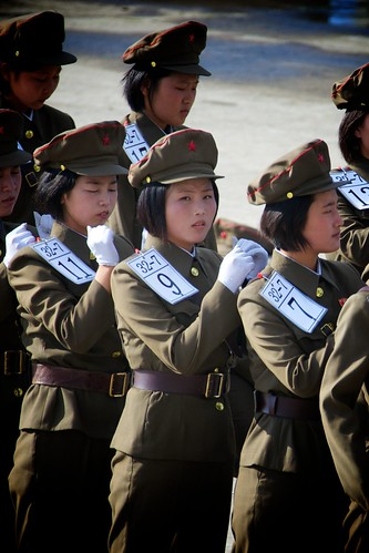 North Korean Marching Practice | by Joseph A Ferris III