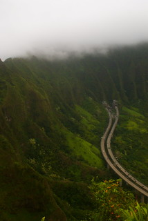 view of h3 from haiku stairs | by emma louise schultz