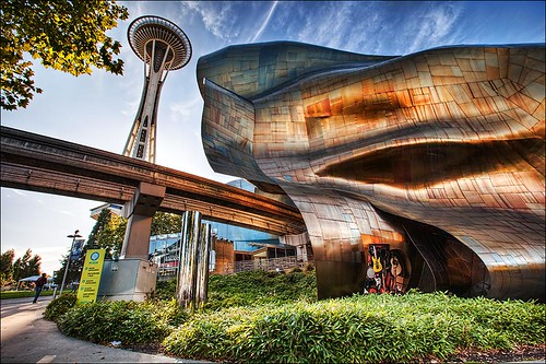 EMP & Space Needle, Seattle | by IanGood