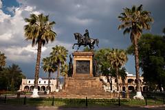 Equestrian statue of Morelos