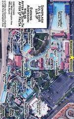 Golfland Sunsplash Map, Mesa, AZ 449 x 720 Print Friendly