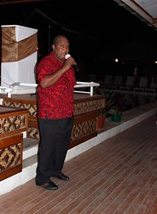 IMG_3077 Mr. John Wasi, Solomon Islands Ministry of Culture and Tourism