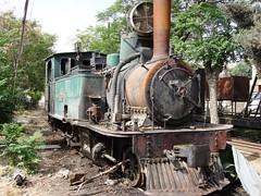 Hedjaz Railway (Syria) - Hama train station, May 2008