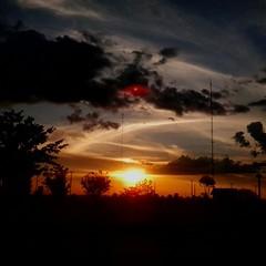 Sorry, amo! Thanks Lord!  #sunset#greatnature#letsexplore#vilhenacity