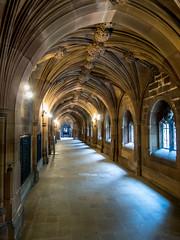 Corridor, John Rylands Library