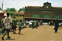 Bamako Mali Railway Train Station 27 April 1995 152 Dakar - Niger Railway