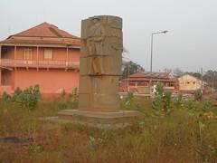 Rest eines Denkmals …