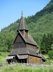 Igreja de madeira de Urnes