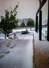 Bad weather at Ariel U. Close and Go...