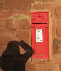 George V wall postbox