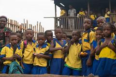 Makoko School Children