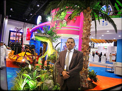 DubaiLand stand in ATM Show