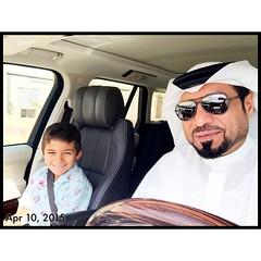 . With Easa Raed AlAhmed .... أنا عمه البطل
