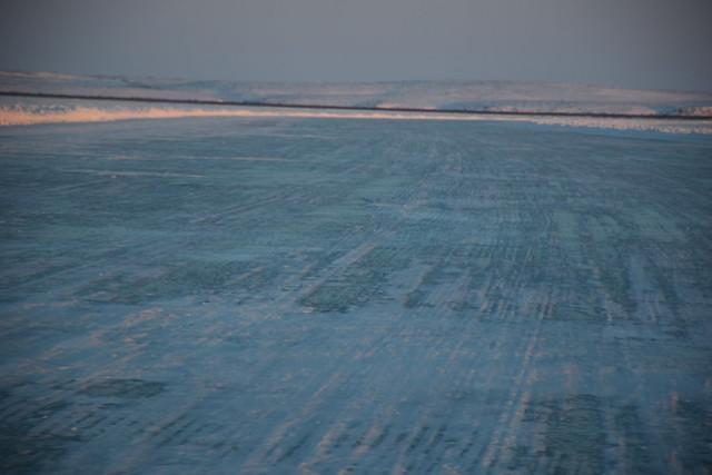 Mackenzie River Delta Ice Road