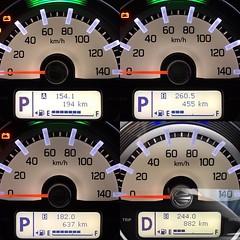 北海道4日間の走行距離。新車、車中泊してコスパMax。地元の人によれば、北海道は広いし車中泊がおすすめとのこと。#driving #traveling #北海道 #富良野 #美瑛 #旭川 #士別 #羽幌町 #オロロンライン #japan #ドライブ