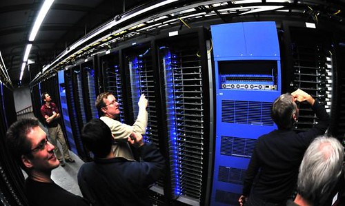 Intel Team Inside Facebook Data Center | by IntelFreePress