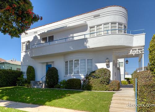 Vogue apartments santa monica california decopix flickr for Modern art deco homes