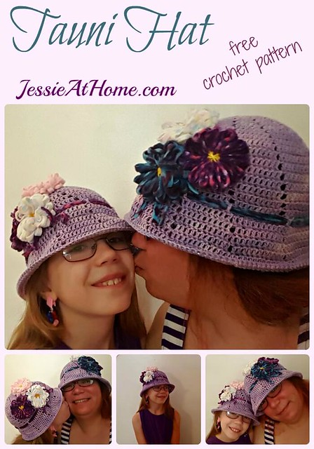 Tauni Hat - free crochet pattern by Jessie At Home