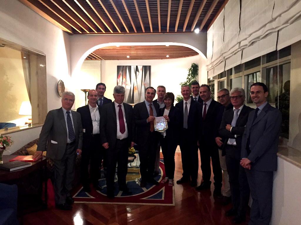 Incontro B2B con gli imprenditori italiani in Arabia Saudita