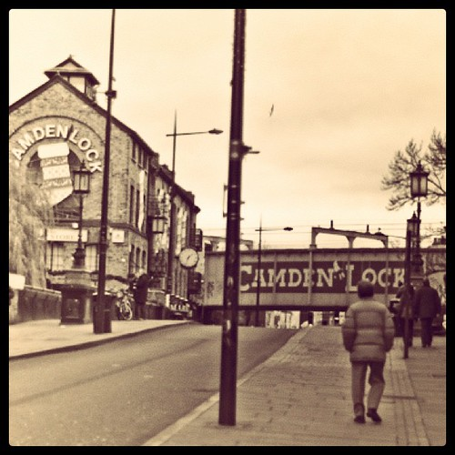 I spent Christmas day walking around the normally bustling, and thus eerily calm Camden, London | by Lex Machina